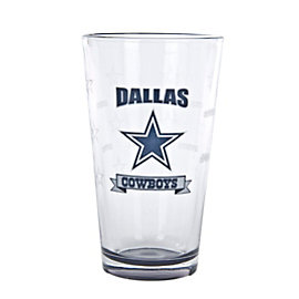 Dallas Cowboys Banner Pint 16 oz.
