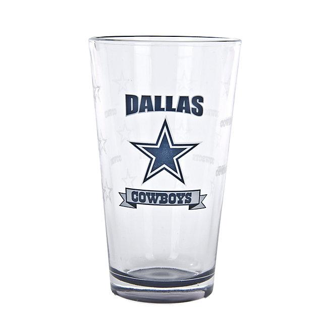 Dallas Cowboys Banner Pint 16 oz.