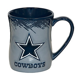 Dallas Cowboys 15 oz. Hourglass Mug