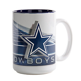 Dallas Cowboys 15 oz. Jumbo Mug with Full Color Wrap
