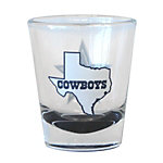 Dallas Cowboys Lone Star Shot Glass