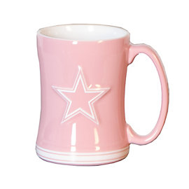 Dallas Cowboys Pink Coffee Mug