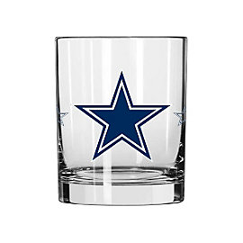 Dallas Cowboys Color Changing Rocks Glass
