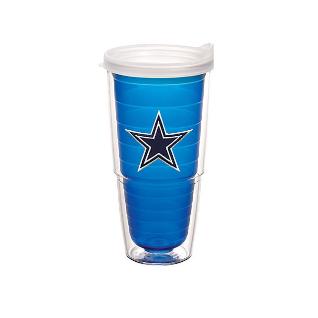 Dallas Cowboys Tervis 24 oz. Blue Travel Mug