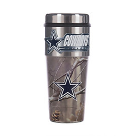 Dallas Cowboys Realtree Camo Wrapped Tumbler