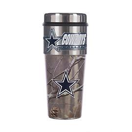 Dallas Cowboys Realtree Camo Wrapped Tumbler