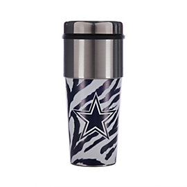 Dallas Cowboys Zebra Stripe Wrapped Tumbler