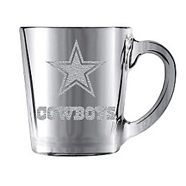 Dallas Cowboys Glacier Glass Mug