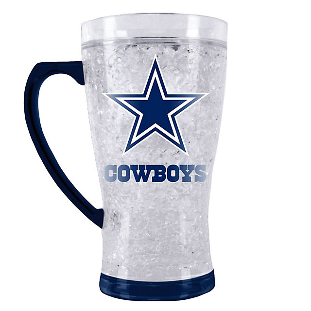 Dallas Cowboys Crystal Flared Mug 16 Ounce