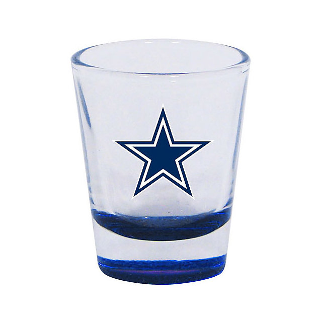 Dallas Cowboys Highlight Shot Glass