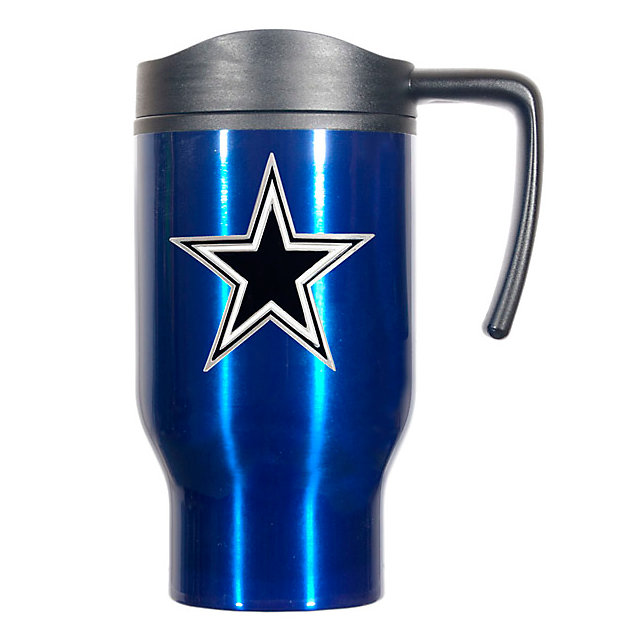 Dallas Cowboys Stainless Blue Travel Mug