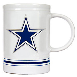 Dallas Cowboys 16 oz. Stripe Varsity Mug