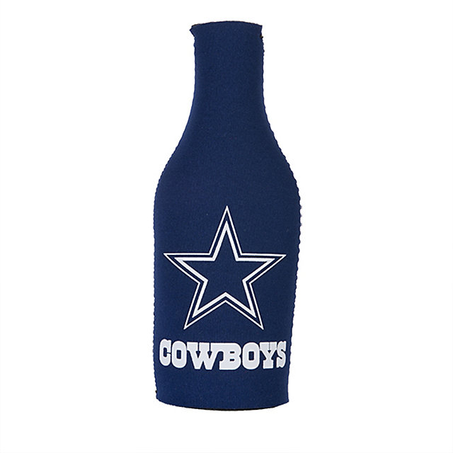 Dallas Cowboys Bottle Koozie with Opener
