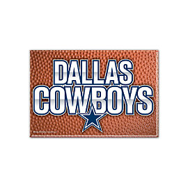 Dallas Cowboys Pebble Fridge Magnet
