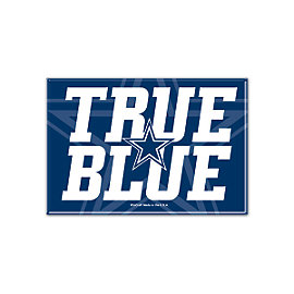 Dallas Cowboys True Blue Fridge Magnet