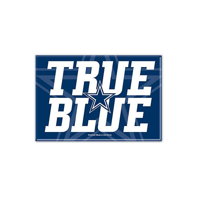 Dallas Cowboys True Blue Fridge Magnet