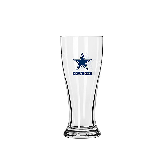 Dallas Cowboys Satin Etch 2.5 oz Mini Pilsner Shot Glass