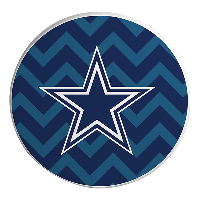 Dallas Cowboys Ceramic Chevron Coaster