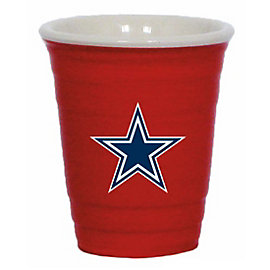 Dallas Cowboys Tailgater 2 Ounce Ceramic Shot Glass