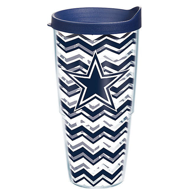 Dallas Cowboys Tervis Chevron Wrap 24 oz Tumbler