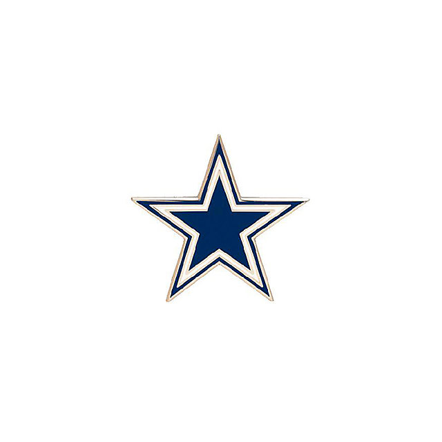 dallas cowboys star logo pin accessories mens