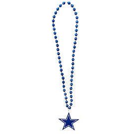 Dallas Cowboys Team Logo Beads Necklace