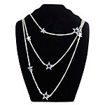 Dallas Cowboys Wrap Around DC Star Necklace