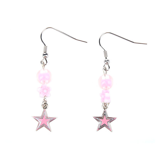 Dallas Cowboys Sophie Pink Earrings