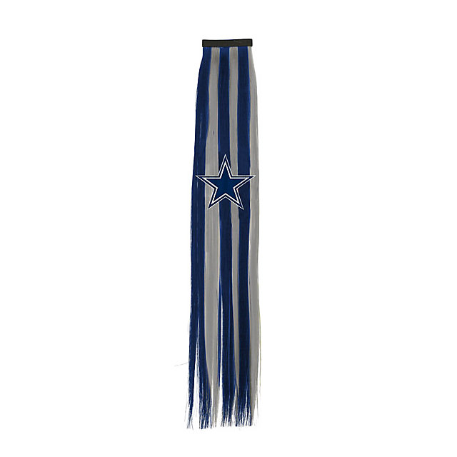Dallas Cowboys Hair Clip with Ribbon