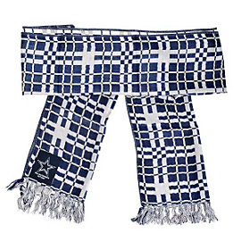 Dallas Cowboys Checkered Scarf