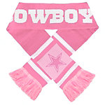 Dallas Cowboys Pink Stripe Scarf