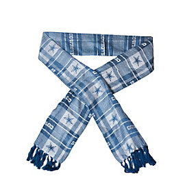 Dallas Cowboys Viscose Plaid Scarf