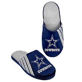 Dallas Cowboys Stripe Logo Slippers