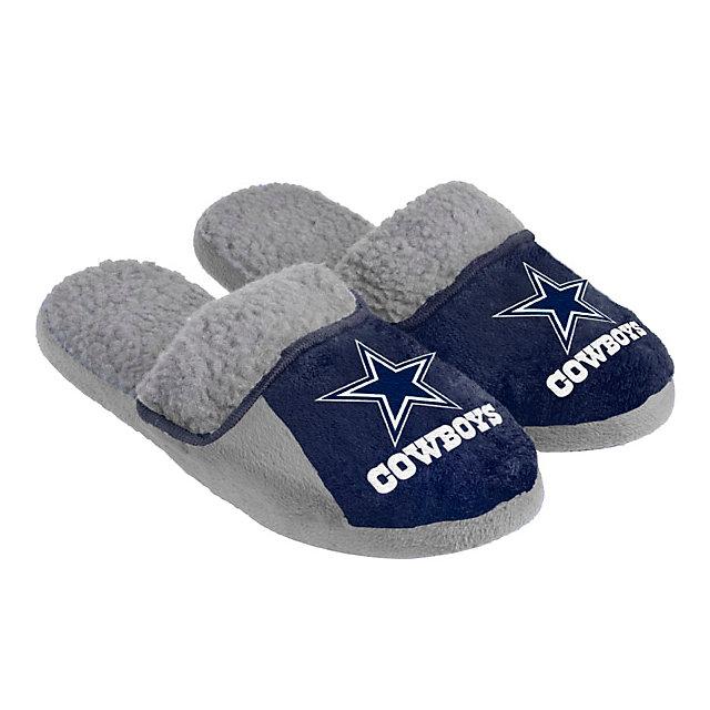 slippers dallas cowboys apparel souvenirs