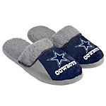 Dallas Cowboys Sherpa Slide Slippers