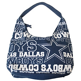 Dallas Cowboys Canvas Wordmark Tote