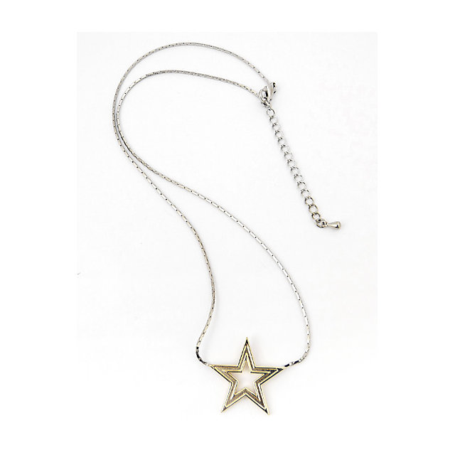 Dallas Cowboys Cut Out Star Necklace