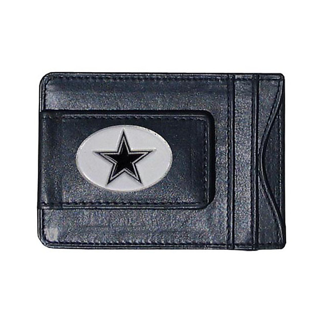 Dallas Cowboys Leather Cash and Card Holder