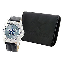 Dallas Cowboys Watch and Wallet Set