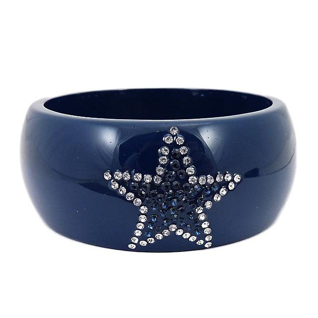 Dallas Cowboys Acrylic Crystal Star Bracelet