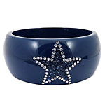 Dallas Cowboys Acrylic Crystal Star Bracelet