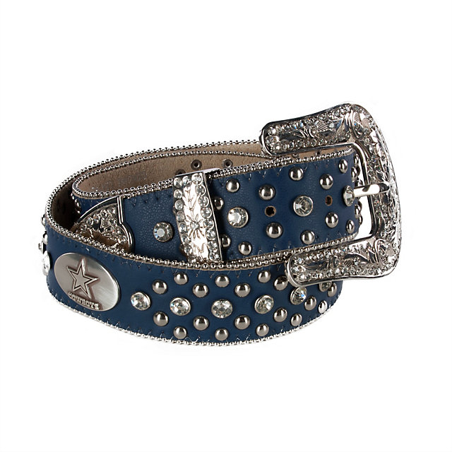 Dallas Cowboys Rhinestone Studded Belt