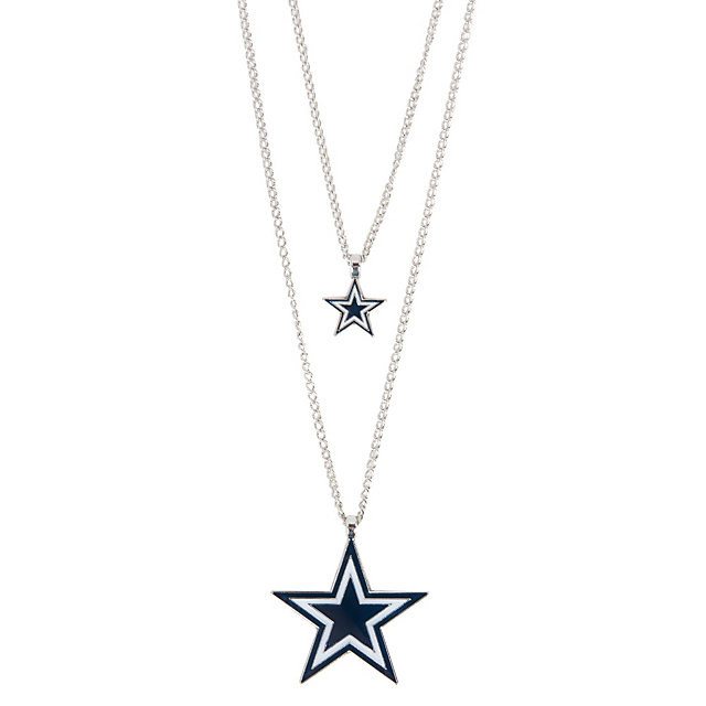 Dallas Cowboys 2-Tier Star Necklace