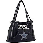 Dallas Cowboys Black Hoodie Purse with Bling