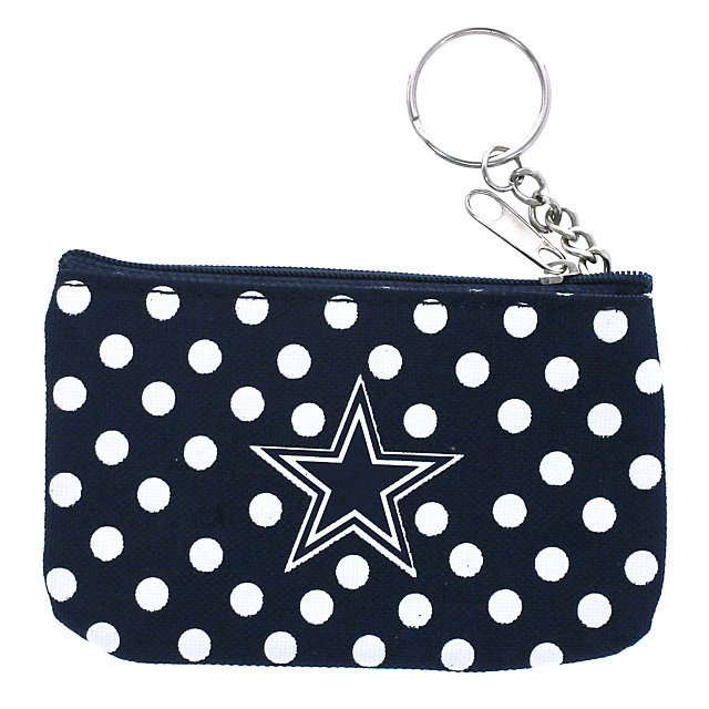 Dallas Cowboys Polka Dot Coin and ID Purse