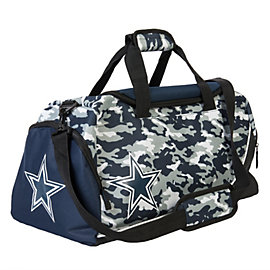 Dallas Cowboys Core Camo Duffle Bag