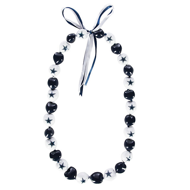 Dallas Cowboys Kukui Nut Necklace