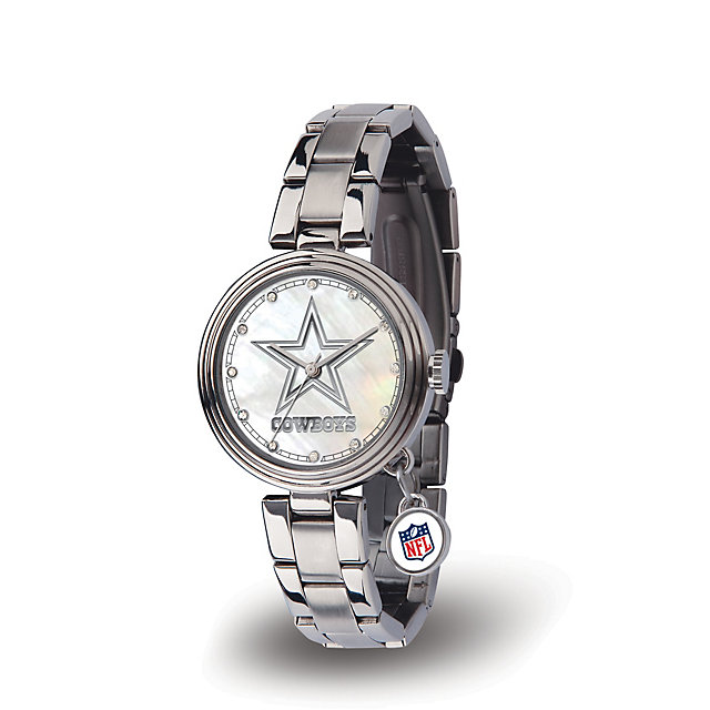 Dallas Cowboys Womens NFL Charm Watch