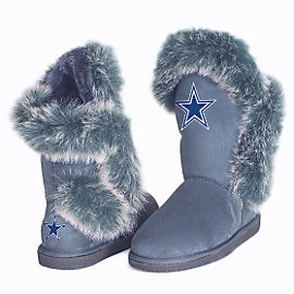 Dallas Cowboys Cuce The Fanatic 2 Fur Boot