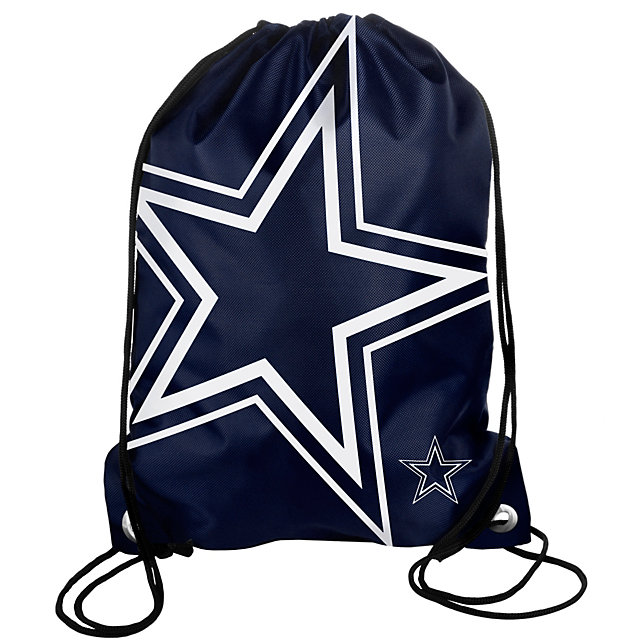 Dallas Cowboys Big Logo Drawstring Backpack